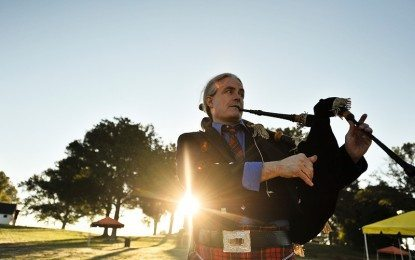 Featured Piper of the Day:  J. David Hester