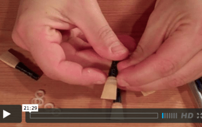 Selecting and Adjusting Pipe Chanter Reeds